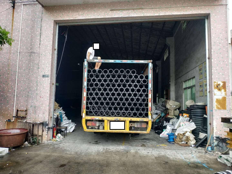 HDPE给水管厂家出货现在
